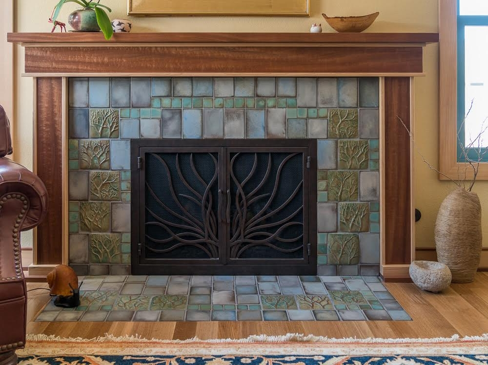 Manzanita Fireplace