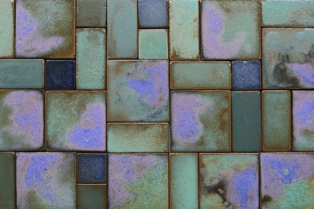 Cobalt & Celadon watercolor -