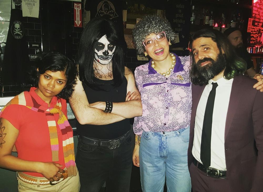 (L to R)Nith Jonas, The Danziger, Smo's Mom, & Smo