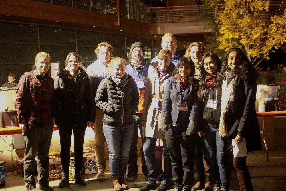 The SURPAS Research Symposium 2016 team