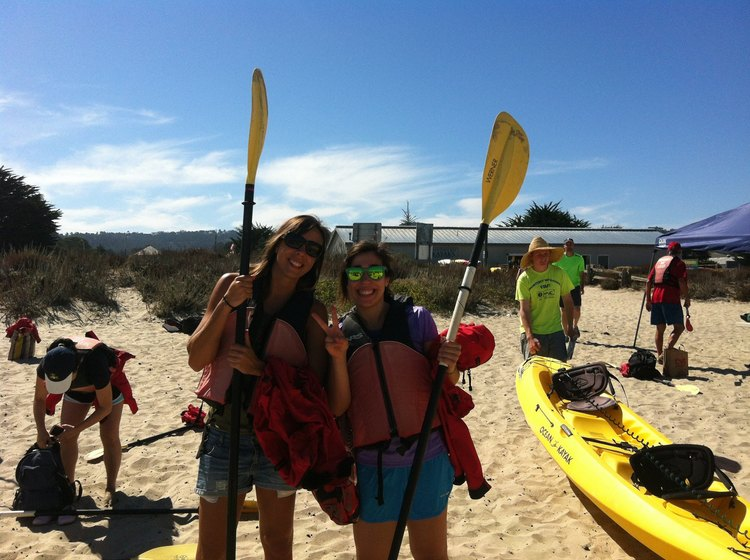 Kayaking Trip at Monterey Bay