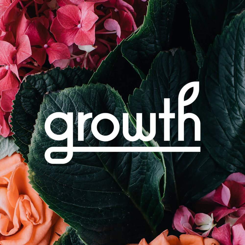 Logo for Growth. Growth was an exhibition for planter submissions. I designed the logo, which was prominently displayed at the AmDC exhibit at Astor Place during NYCxDESIGN week.
