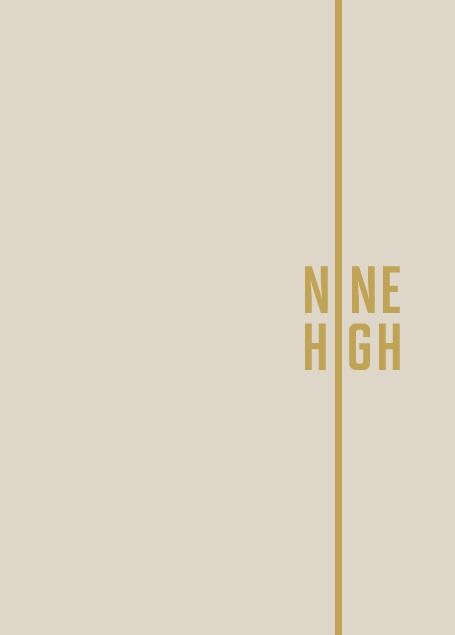 Branding and brochure copy | Nine High