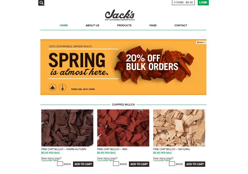 Website copy | Jack's Mulch