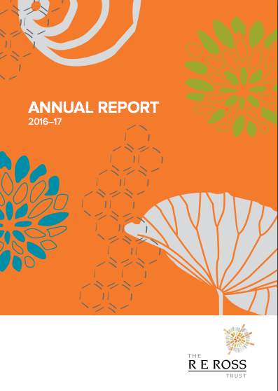 Report writing + editing | Ross Trust Annual Report 2015-16, 16-17