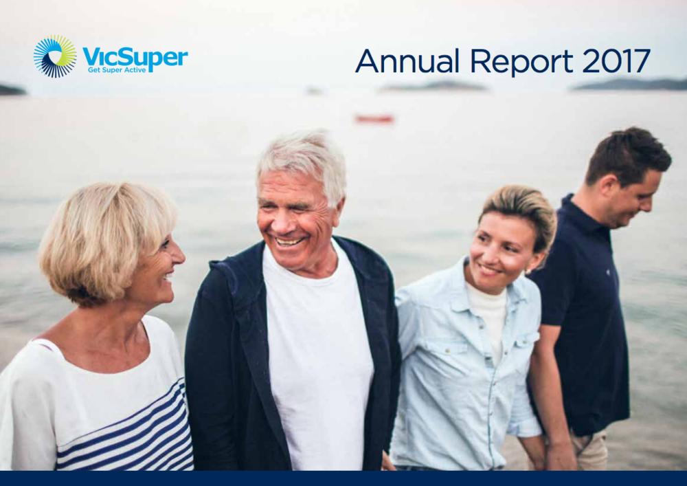 VicSuper Annual Report 2017