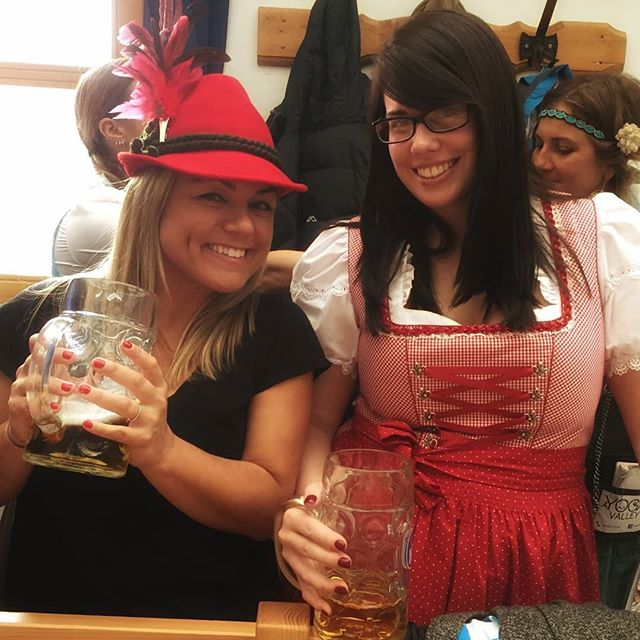 More of our gorgeous guests enjoying Oktoberfest 2017. #oktoberfest2017 #beer #fun #beertent #beerbabe #bucketlist #travelmore @mollylinden
