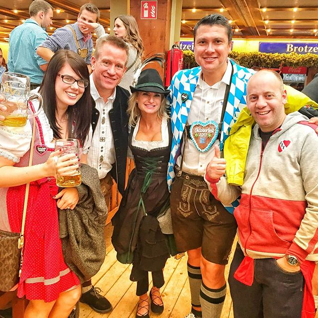 More beer tent fun at Oktoberfest 2017. Will we see you there in 2018? #oktoberfest #2018 #seeyouthere #beer #beerbuddies #beerbabe #travel #traveltheworld #festival #itstradition