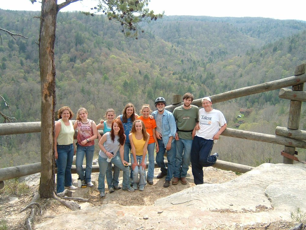 Overlooking the Big South Fork NRRA