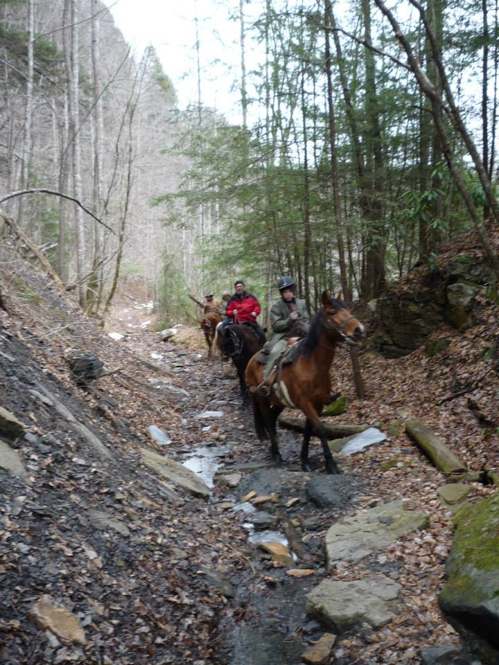 Group ride with Southeast Pack Trips