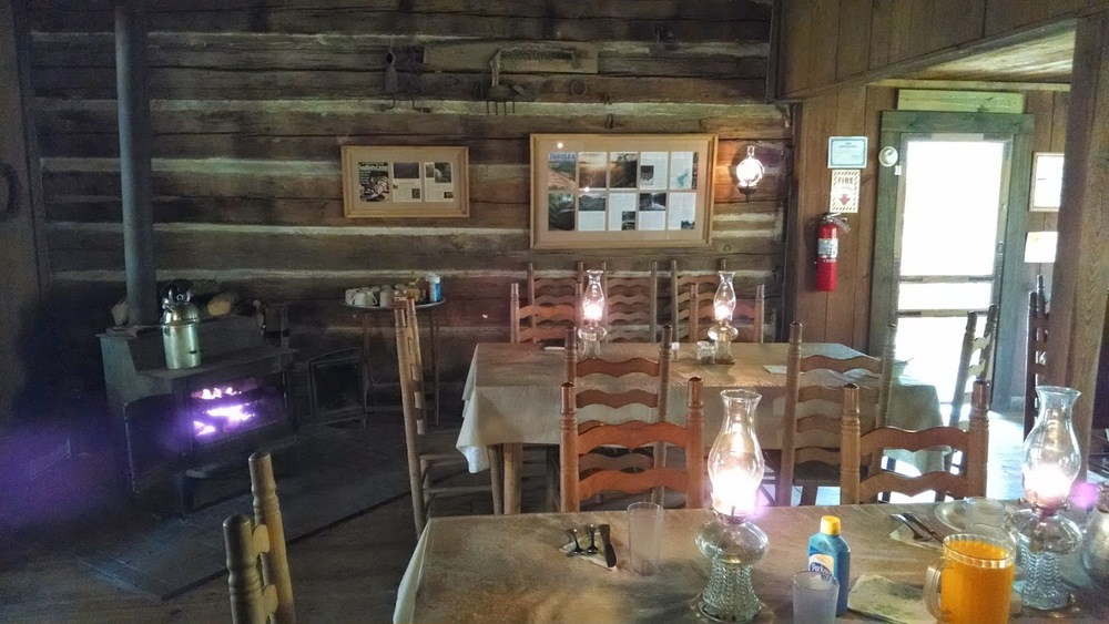 Inside view of Charit Creek Lodge