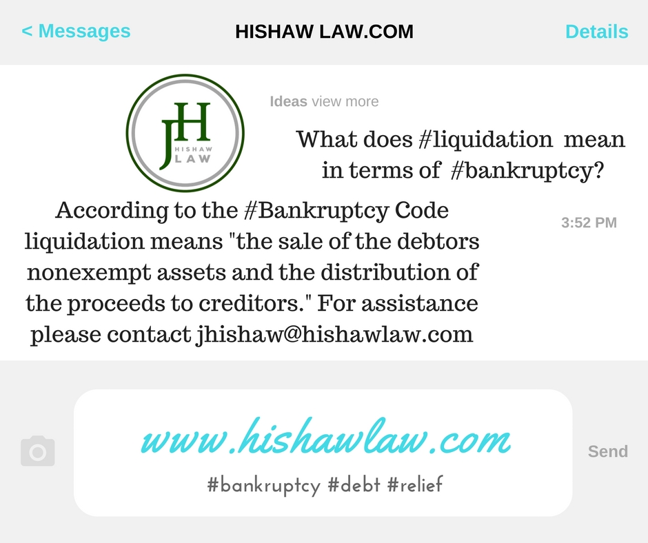 Cheyenne Wyoming Bankruptcy Law Firm Hishaw Law