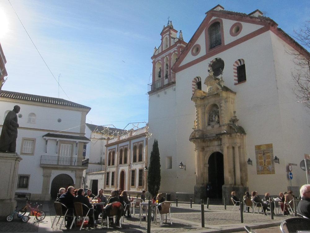 Tranquil plaza in Córdoba