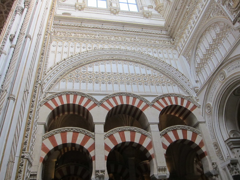 The arches in the Mezquita!