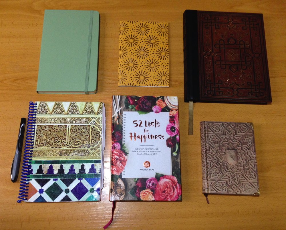 All of the journals I am actively using in my life right now, I think I can officially say I am a journal hoarder.