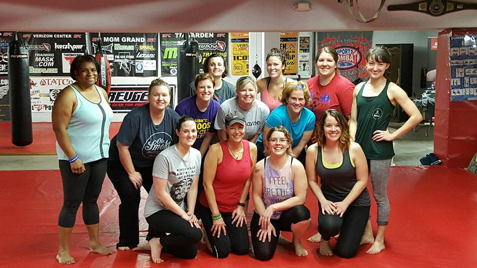 My work out community, Marvel My Fitness, Knoxville, TN.