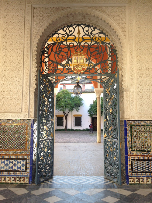 Casa de Pilatos. A beautiful museum near my flat that I decided to explore recently on my own!