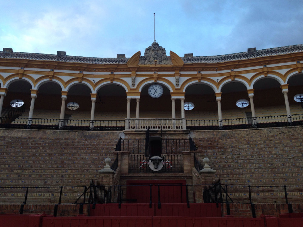 The Bull Ring in Sevilla. I took a guided tour with family while they were in town visiting.