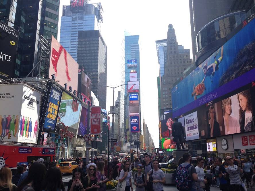Time's Square in New York