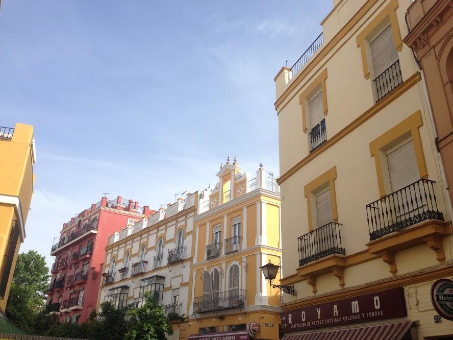 My street in Sevilla