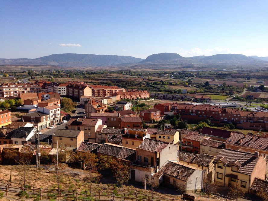 Villamediana de Iregua, the pueblo where I work teaching English!