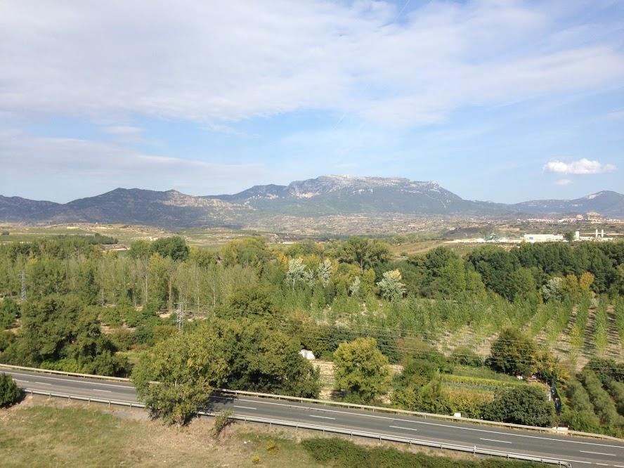 Stunning views from Haro, La Rioja.