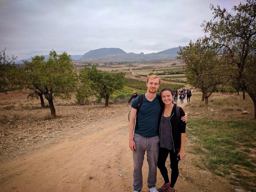Sam and me on the Clavijo hike
