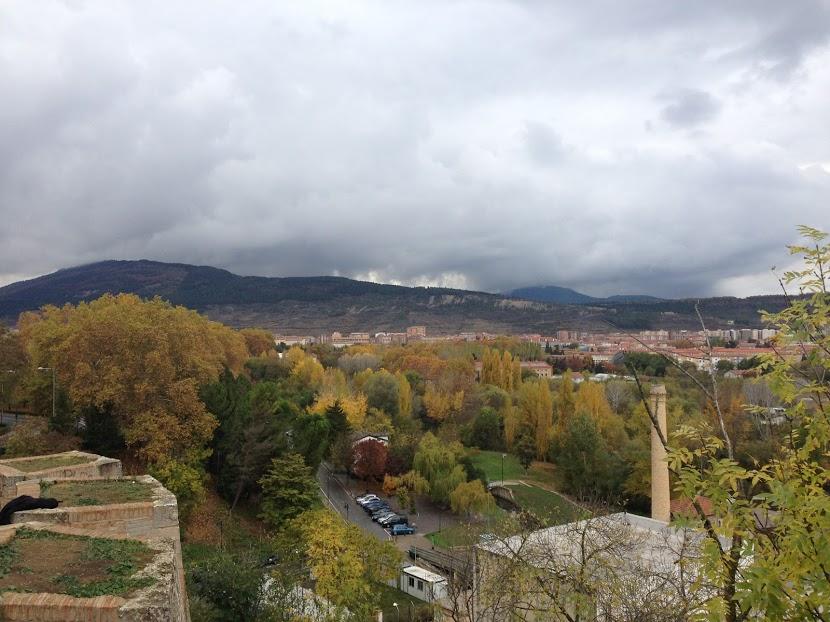 Views in Pamplona