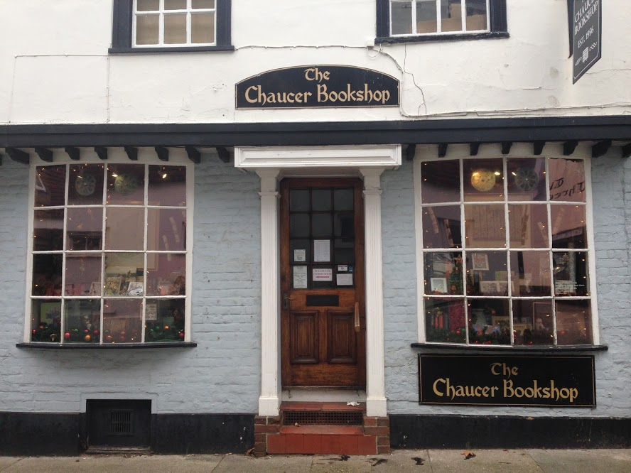 A bookshop named after Chaucer, of Canterbury Tales fame.