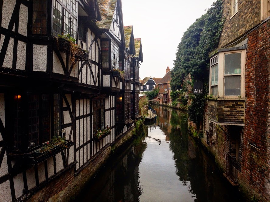 The canals in Canterbury
