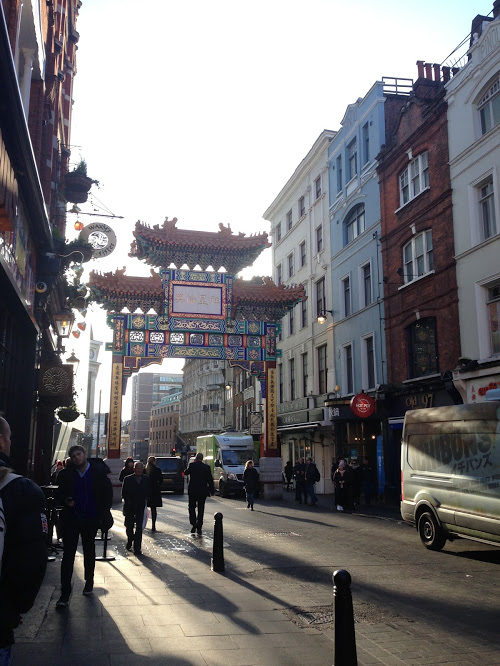 Entrance to London's Chinatown