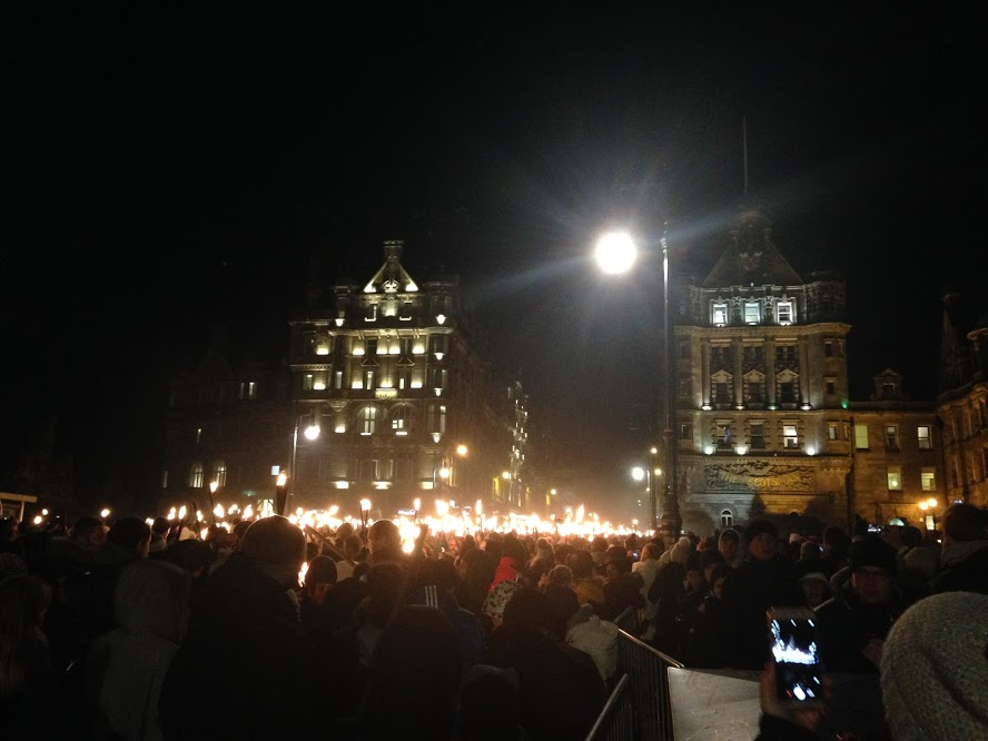 Hogmanay Torch Ceremony