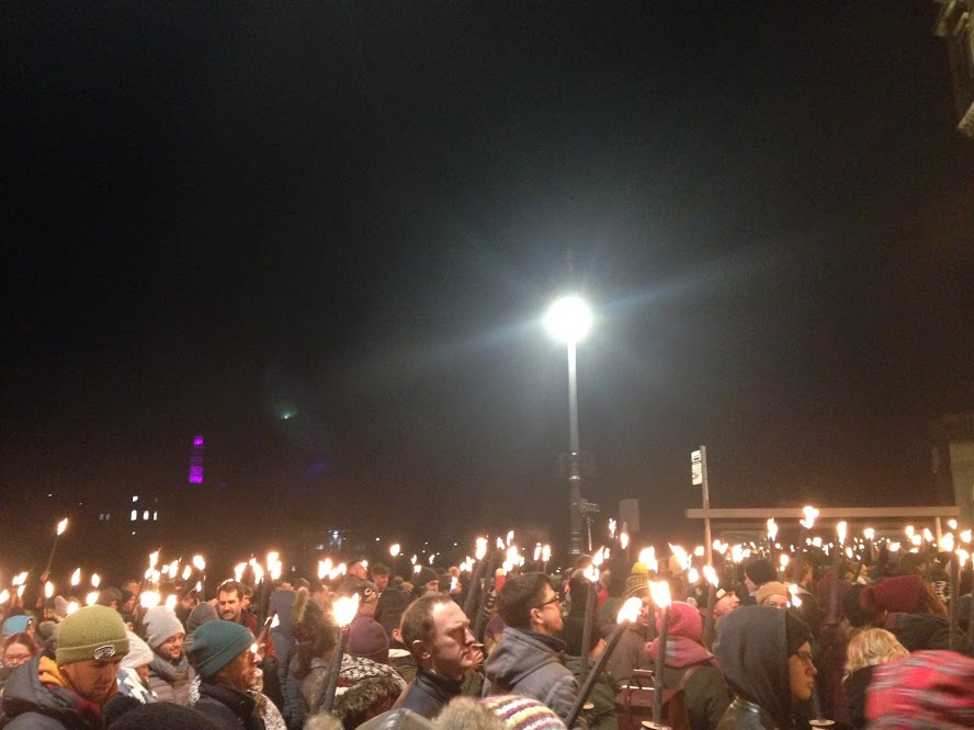 Hogmanay Torch Ceremony