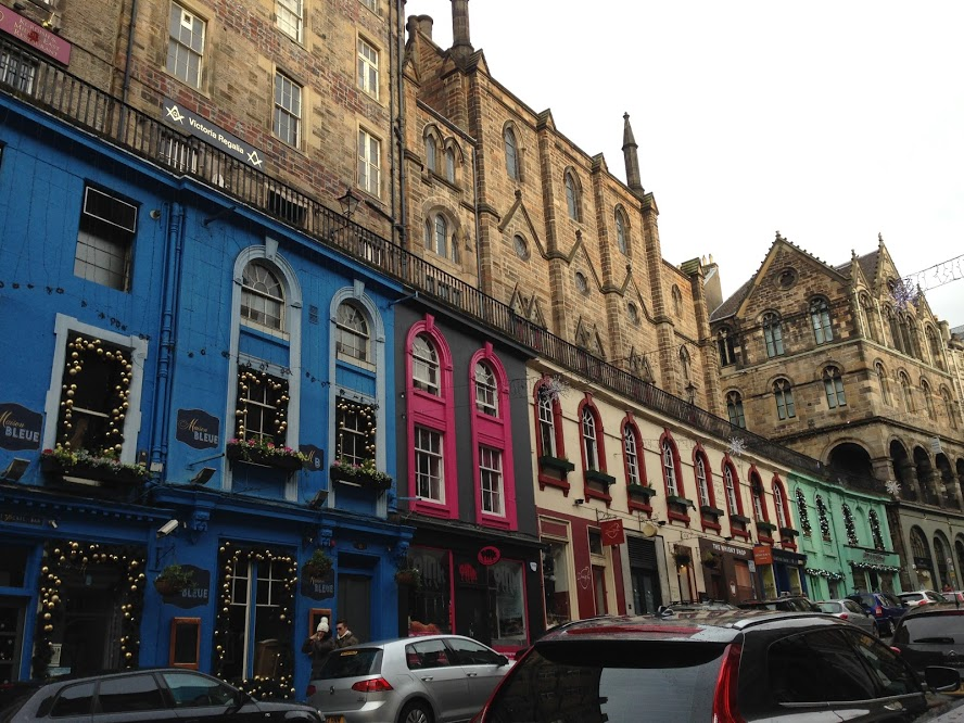 The street Diagon Alley was based on in Edinburgh