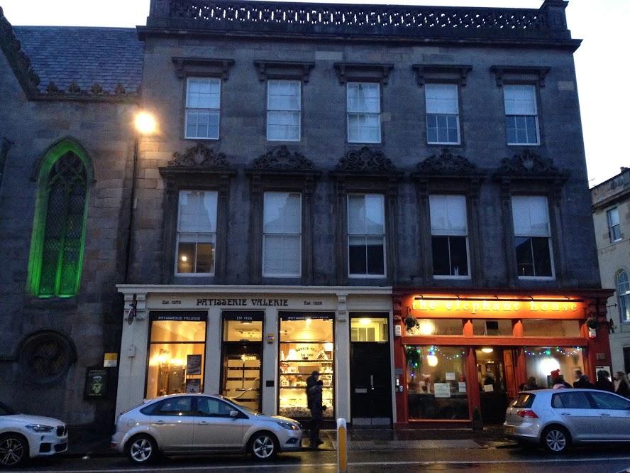 Elephant House was a cafe where J.K. Rowling wrote a lot of Harry Potter