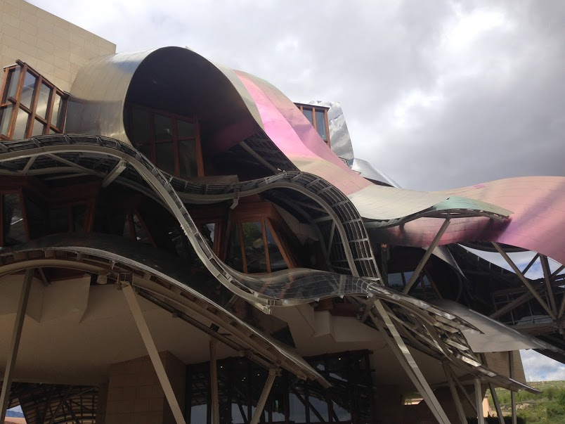 The famous Marques de Riscal Winery in Elciego, Pais Vasco