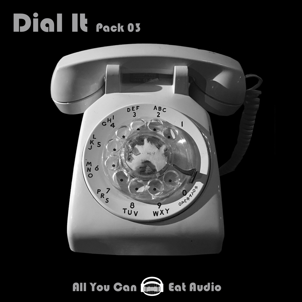 DIAL IT_Pack 01, 02, 03 Cover Art designed in collaboration with: Elana Zussman