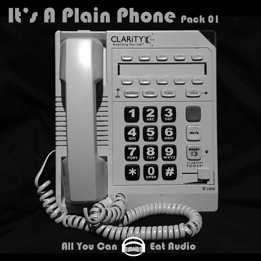 It's A Plain Phone_Pack 01 Cover Art designed in collaboration with: Elana Zussman
