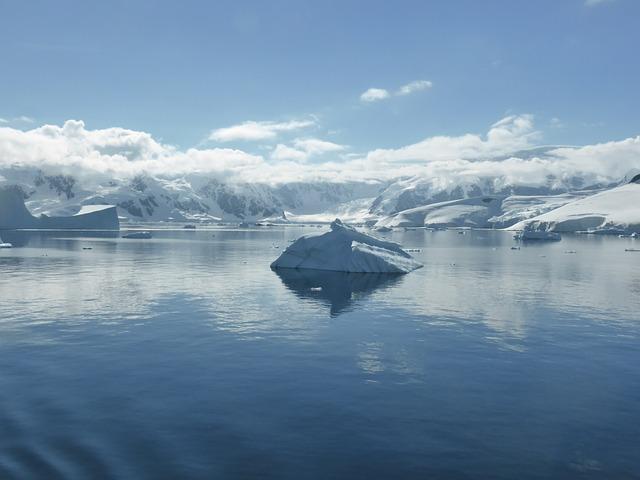 """Icebergs off Antarctic Peninsula"" by Martin Fuchs"