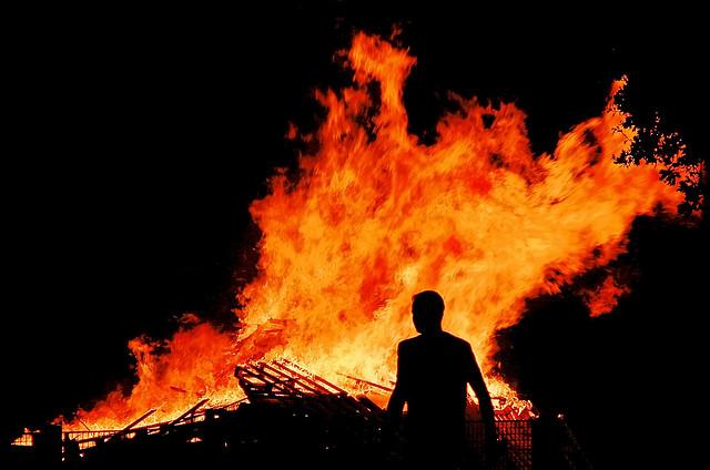 (Fire Man | Paul Chaloner)