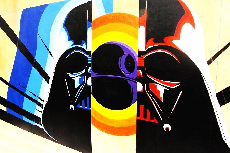 (SWCA - Darth Vader art   William Tung)