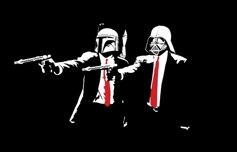 Force, muthaf*cka, do you speak it? |  Pulp Fiction/ Star Wars  mashup