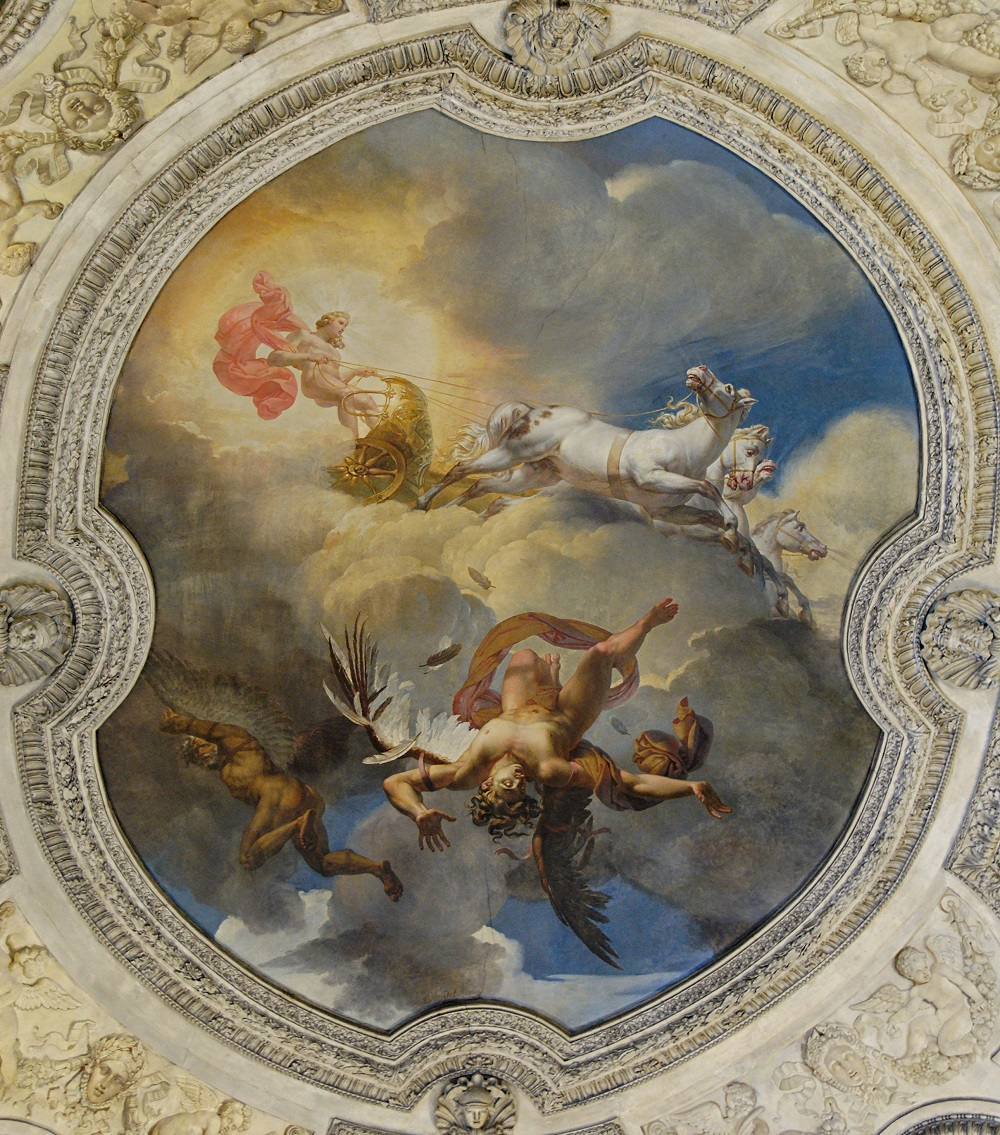 """(""""The Sun or the Fall of Icarus"""" by Merry-Joseph Blondel, 1819   Marie-Lan Nguyen)"""