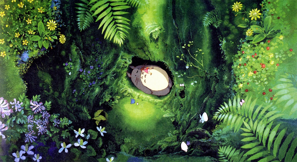 (  My Neighbor Totoro   | Studio Ghibli)