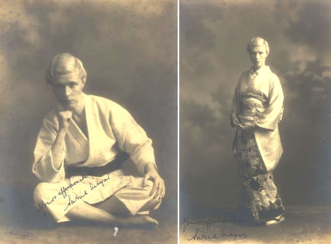 Sarah Mayer (1896–1957), the first non-Japanese woman to be awarded a black belt in judo