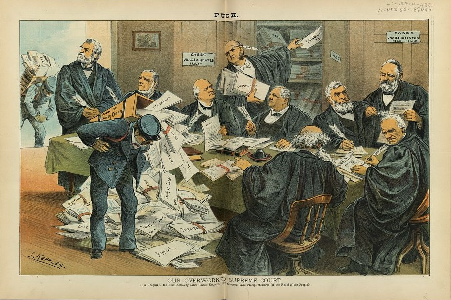 (Our Overworked Supreme Court | Library of Congress)