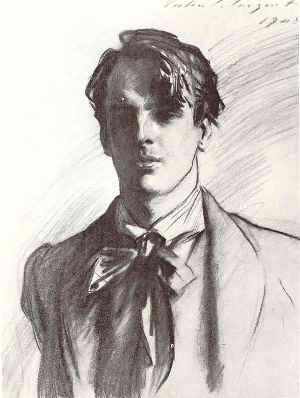 (Portrait of W. B. Yeats, 1908 | John Singer Sargent)