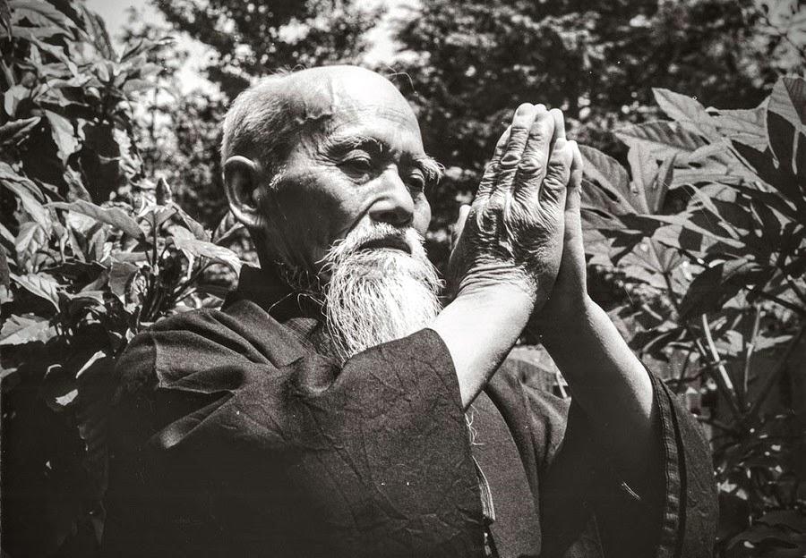 (Morihei Ueshiba c. 1957)