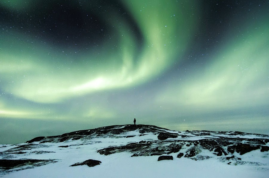 (Northern lights   Paul Itkin)