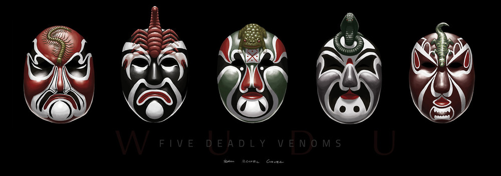(From the cult classic, Five Deadly Venoms)